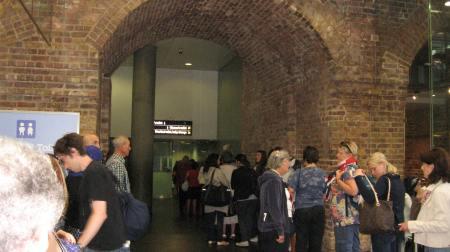 Baño de mujeres estación de St Pancras
