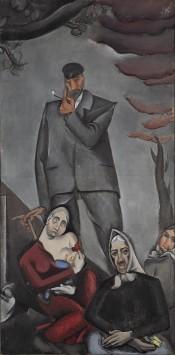 'Refugiados' por Jēkabs Kazaks (1917) (Wikimedia Commons)