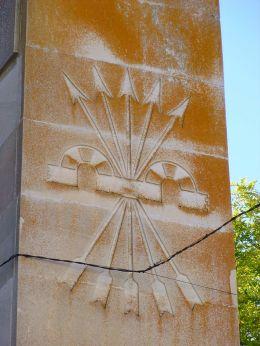 Monumento a los Caídos del bando rebelde en la Guerra Civil Española, Ocaña (Toledo). Zarateman (Wikimedia Commons)